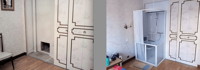 Un logement accessible au quotidien - Installer une douche dans une chambre ...