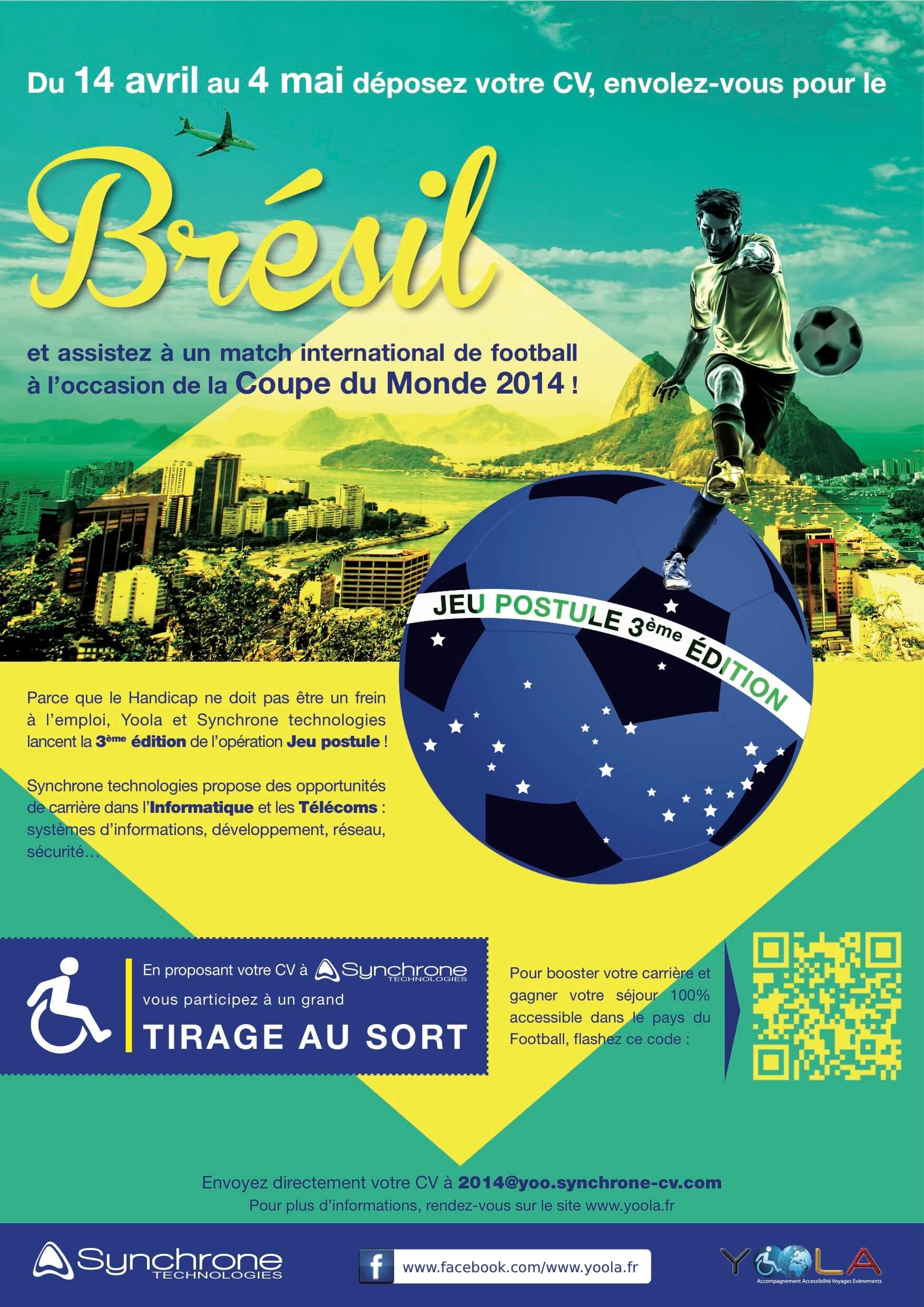 Handicap Un Jeu Concours Pour Recruter
