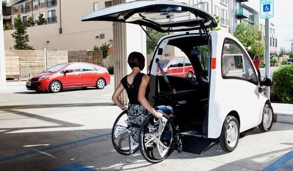 la kenguru la petite voiture urbaine adapt e aux personnes en fauteuil. Black Bedroom Furniture Sets. Home Design Ideas