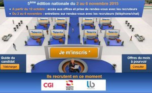 Salon virtuel Talents Handicap 2015