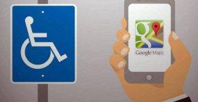Google Maps identifie les lieux accessibles à tous