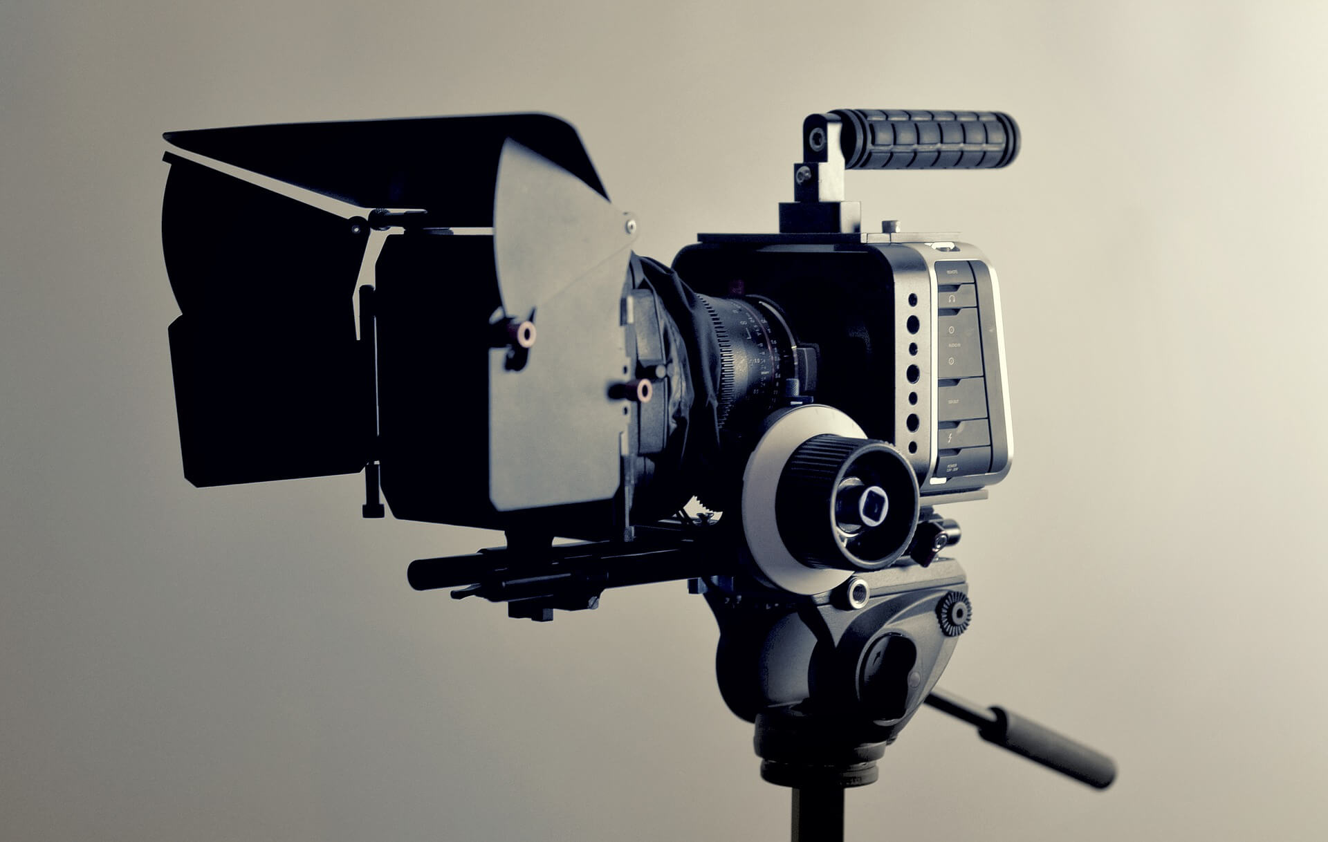 meet the press video podcast camera
