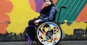 IzzyWheels: l'art au service des fauteuils roulants