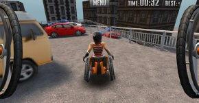 """Jeu vidéo: """"Extreme Wheelchairing"""", pour sensibiliser au handicap"""