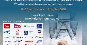 17ème édition du Forum emploi Talents Handicap