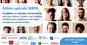 Forum en ligne national pour l'emploi de candidats en situation de handicap