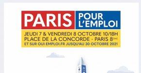 Paris pour l'emploi 2021 : un salon de recrutement et de formation sur place et en ligne !